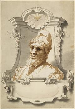 WA1863.1480 attributed to Jusepe Ribera, Head of a Man. Image © Ashmolean Museum, University of Oxford.