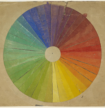 WA1979.17 Louis Hayet, Colour Wheel, 1887. Image © Ashmolean Museum, University of Oxford.