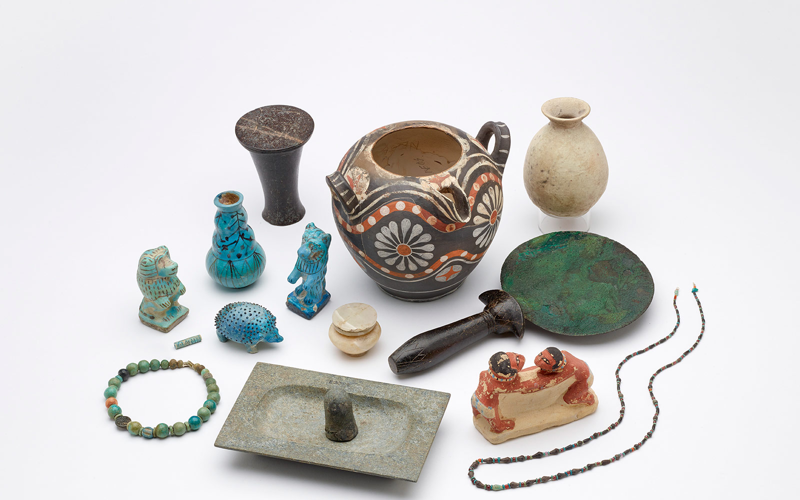 Artifacts from the Beyond The Nile exhibition