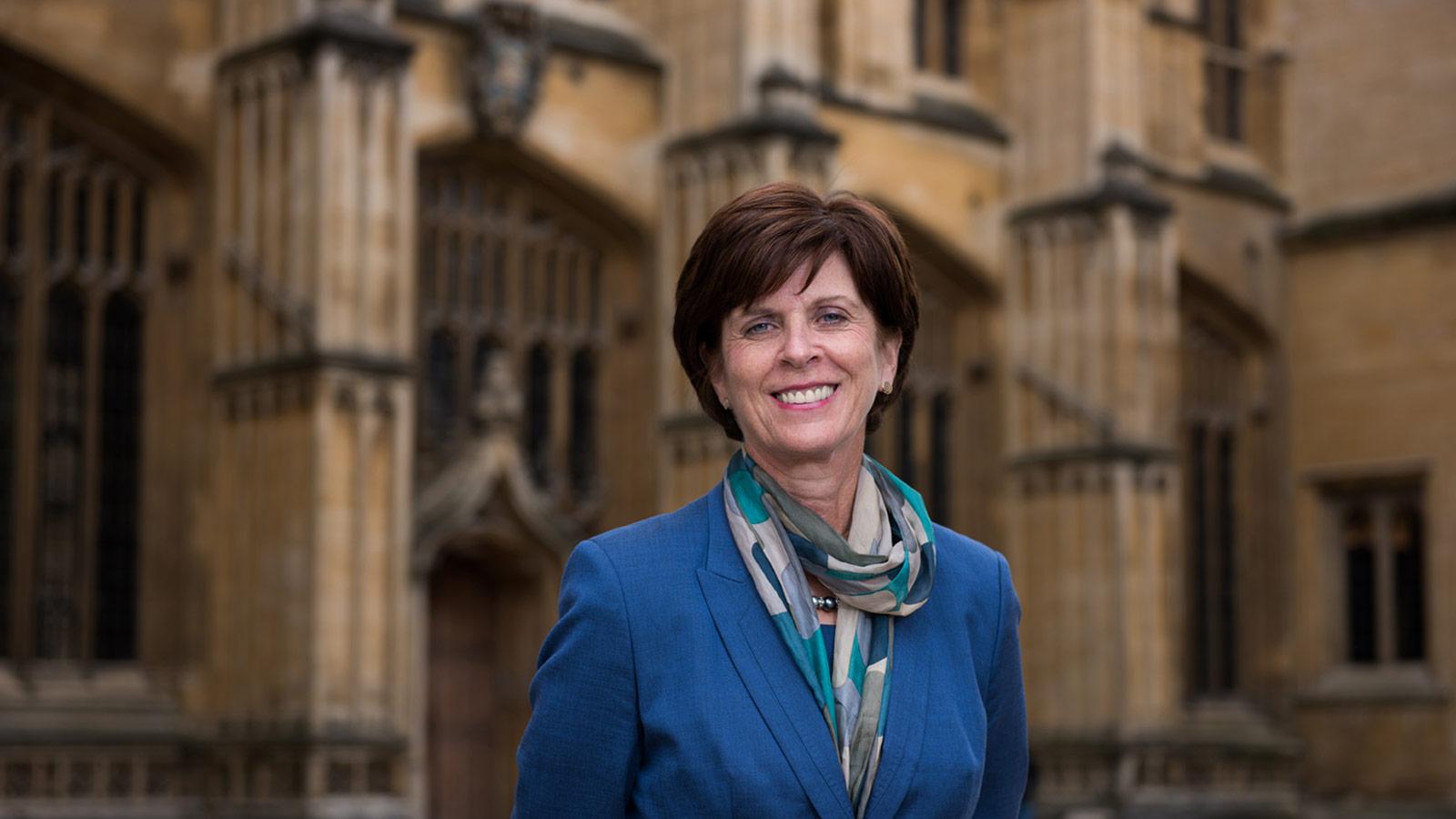 The Vice-Chancellor, Professor Louise Richardson