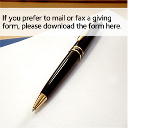 Donation form image